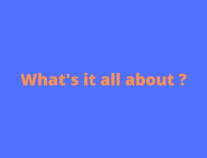 link to What's it all about page