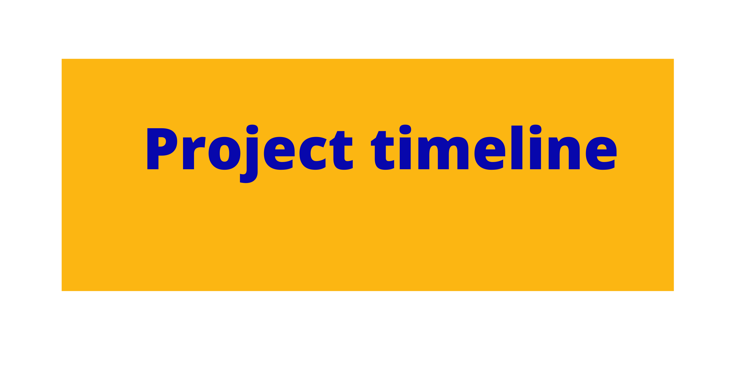 link to project timeline page