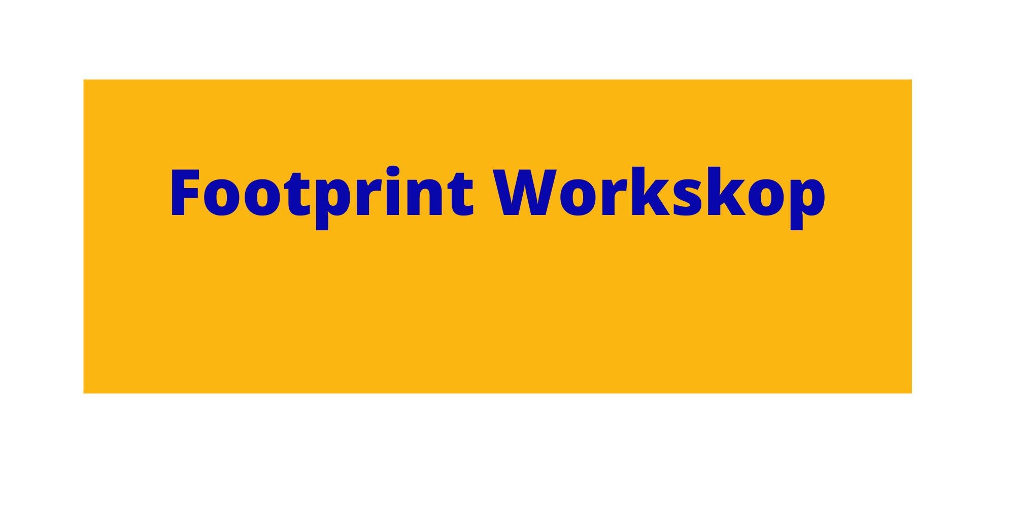 Button design footprint workshop