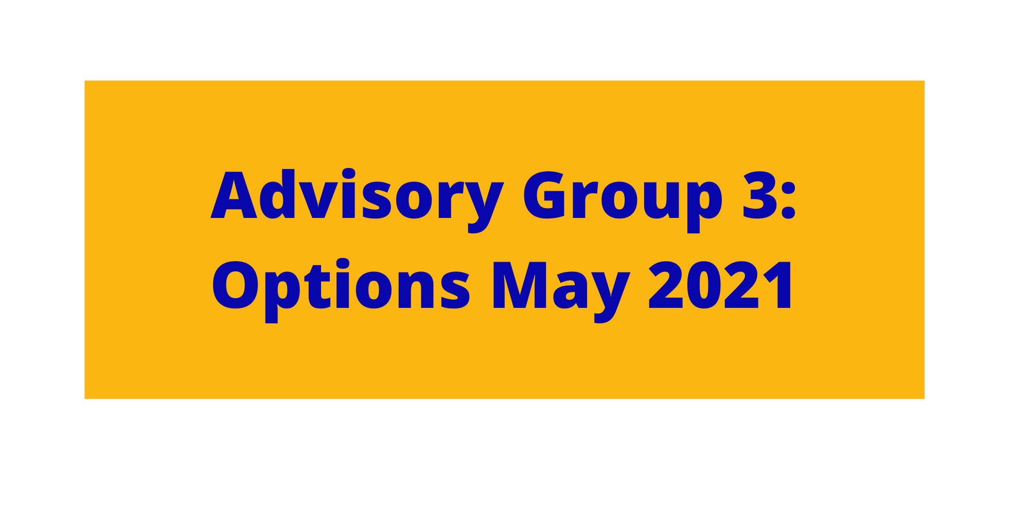 Button design Advisory Group 3